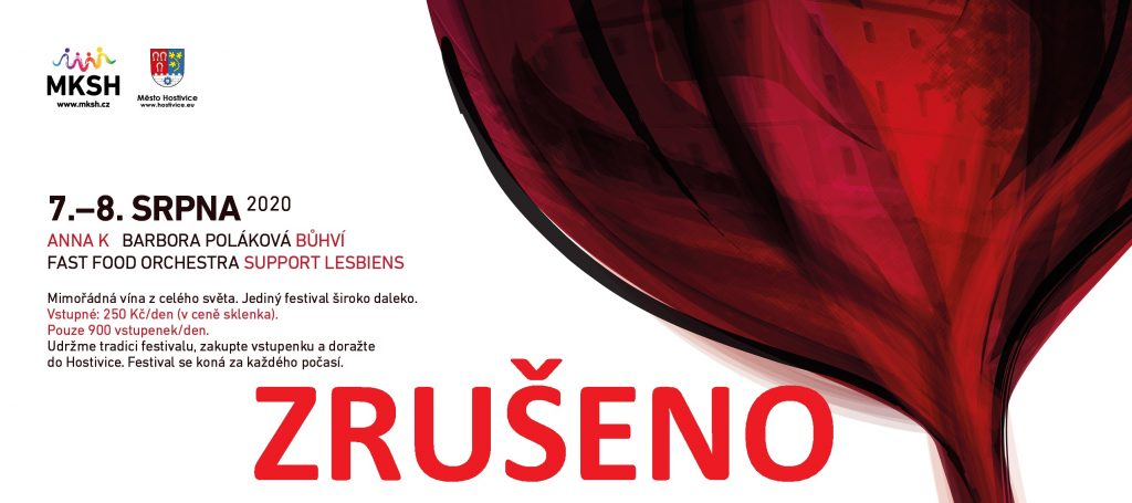 In vino Hostivice 7. a 8. 8. 2020 ZRUŠENO
