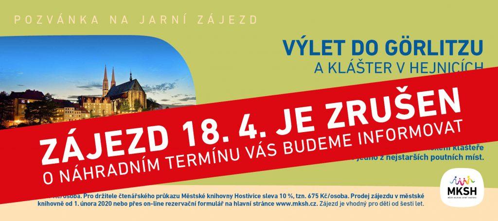 Zájezdy - Görlitz a Hejnice - 18. 4. 2020 - ZRUŠENO