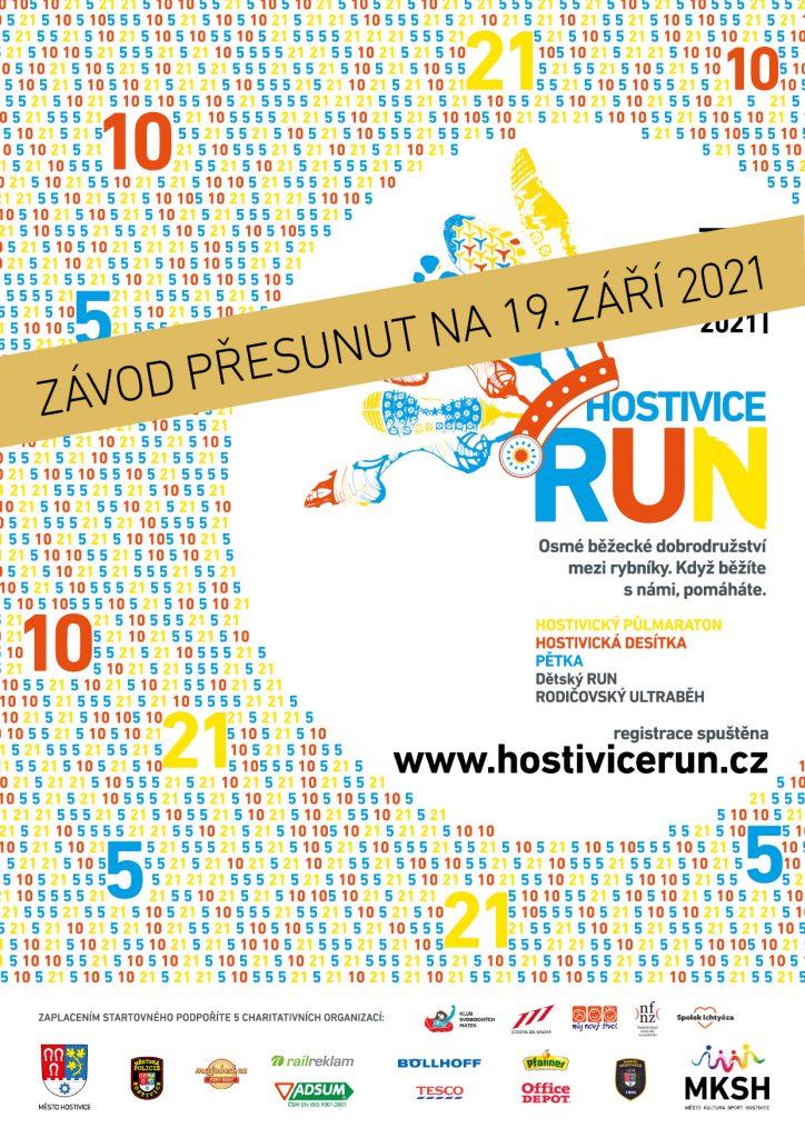 Závod Hostivice RUN 19. září