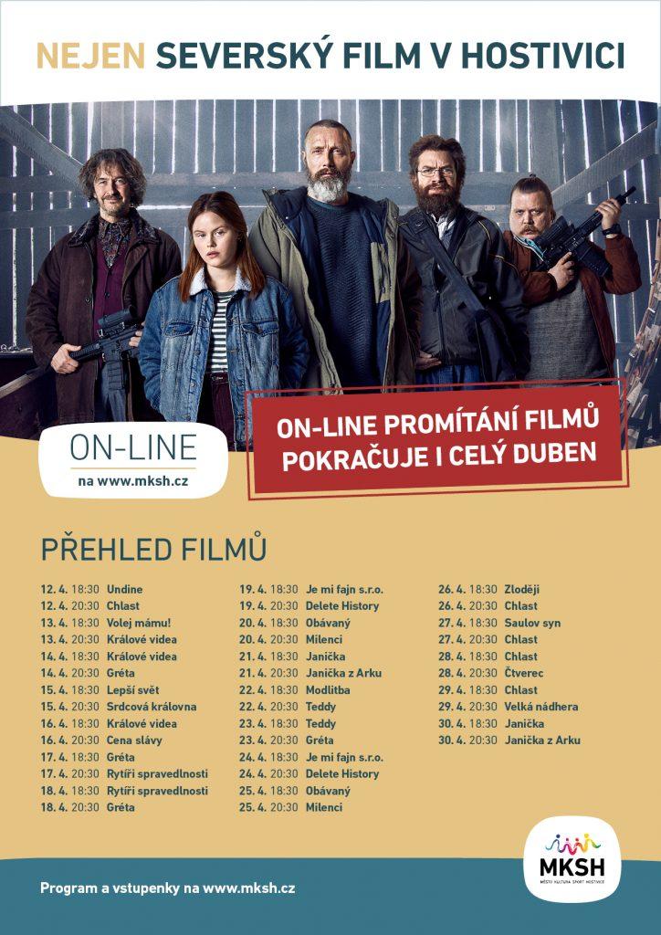 Nejen Severský film v Hostivici prodloužen do konce dubna