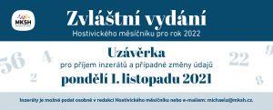 Zvláštní vydání Hostivického měsíčníku pro rok 2022